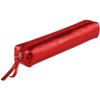Clairefontaine bőr tolltartó 4x2,5x19,5 cm, slim, piros