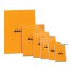 Clairefontaine Rhodia narancs jegyzetblokk  80lap  vonalas  5 2x7 5cm