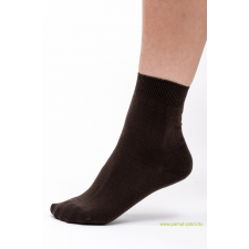 Classic pamut zokni 5 pár - barna 35-36 női zokni