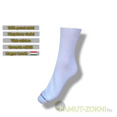 Classic pamut zokni - fehér 35-36