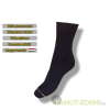 Classic pamut zokni - fekete 35-36