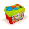 Clemmy Baby: 15 darabos formaválasztós készségfejlesztő dobozka