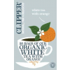 Clipper bio fehér tea naranccsal, 26 filter