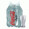 Coca-Cola light szénsavas üdítőital 2x1,75 l eldobható palackban