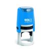 """COLOP Bélyegzõ, kör, COLOP """"Printer R 30"""", kék cserepárnával"""