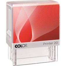 "COLOP Bélyegző, COLOP ""Printer IQ 20"" fehér ház - fekete párnával bélyegző"