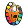 Colorado Vízfesték palettás ecsettel 12 db-os különböző színű COLORADO