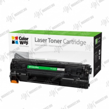 ColorWay Standard Toner CW-H285M, 1600 oldal, Fekete - HP CE285A (85A); Can. 725 nyomtatópatron & toner