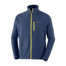 Columbia Fast Trek II Full Zip Fleece Collegiate Navy Antique Moss XXL