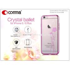 Comma Apple iPhone 6/6S hátlap Swarovski kristály díszitéssel - Comma Crystal Ballet - rose gold tok és táska