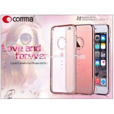 Comma Apple iPhone 6/6S hátlap Swarovski kristály díszitéssel - Comma Crystal Camelia- red diamond tok és táska