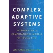 Complex Adaptive Systems – Miller idegen nyelvű könyv