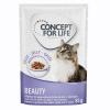 Concept for Life 24x85g Concept for Life Beauty nedves macskatáp aszpikban