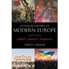 Concise History of Modern Europe – David S. Mason idegen nyelvű könyv