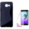 Connect IT S-Cover Samsung Galaxy A5 2016 (SM-A510F) fekete
