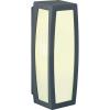 Conrad Fali lámpa, kültéri, E27, antracit, SLV Meridian Box 230045