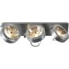 Conrad Fali-, mennyezeti lámpa, 450 mm x 90 mm x 190 mm, 230 V/12 V, G5.3, max. 3 x 35 W, alumínium (matt), SLV Kalu 3 147276