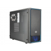 Cooler Master Europe B.V. CHASSIS COOLER MASTER MASTERBOX E500L BLUE WINDOW