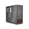 Cooler Master Europe B.V. Cooler Master Chassis MASTERBOX E500L Red; window