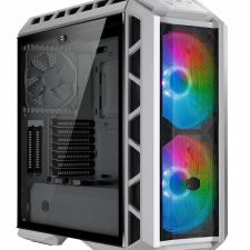 Cooler Master MasterCase H500P Mesh White ARGB White/Gun Metal Grey számítógép ház