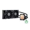 Cooler Master MasterLiquid Lite 240 80x76x42mm 650-2000RPM (Intel, AMD) vízhűtéses processzor hűtő (MLW-D24M-A20PW-R1)