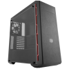 CoolerMaster MasterBox MB600L fekete - piros