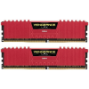 Corsair 16GB (2x8GB) Vengeance LPX Red 2666MHz DDR4 CL16 1.20V Dual-channel memória