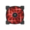 Corsair Air Series AF120-LED 120mm piros rendszerhűtő Twin Pack (CO-9050016-RLED)