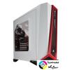Corsair Carbide Series SPEC-ALPHA táp nélküli ablakos ház fehér-piros /CC-9011083-WW/