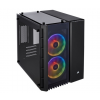 Corsair Crystal 280x RGB Tempered Glass Fekete