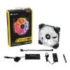 Corsair HD120 RGB High Performance PWM 120mm with Controller (CO-9050066-WW)
