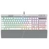 Corsair K70 RGB MK.2 SE Mechanical Gaming Keyboard - Cherry MX Speed; Silver; NA