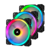 Corsair LL120 Dual Light Loop RGB LED PWM 120mm - 3 Fan Pack (CO-9050072-WW)