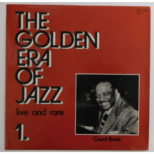 Count Basie - The Golden Era Of Jazz 1. - Live And Rare LP (NM/EX) HUN jazz
