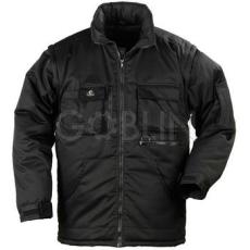 Coverguard CARBON fekete 2/1 kabát, levehetõ ujjakkal mellénnyé alakítható, rejtett kapucni,...