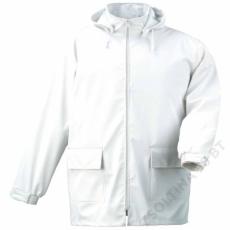 Coverguard FOOD fehér pu kabát -M