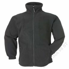 Coverguard Polár pulóver cipzáros fekete -XL