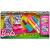 Crayola Barbie Crayola: Ruhafestő készlet - rózsaszín