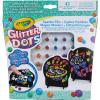 Crayola Crayola: Glitteres Dekorgyöngyök - mozaikkép készítő készlet