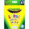 Crayola Crayola: vastag lemosható zsírkréta 8 darabos készlet