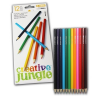 CREATIV JUNGLE SZÍNESCERUZA CREATIVE JUNGLE 12DB-OS