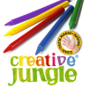 CREATIV JUNGLE ZSÍRKRÉTA CREATIVE JUNGLE 12DB-OS PLASTIC