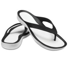 CROCS Swiftwater Flip Women Black/White 36-37