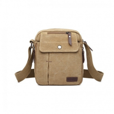 Cross Miss Lulu London E1971 - KONO több zseb CROSS BODY válltáska táska - KHAKI
