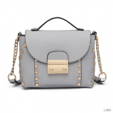 7e209baaa6 Cross Miss Lulu London LT6813-MISS LULU szintetikus bőr CROSS BODY  bevásárló táska táska szürke