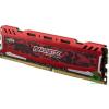 Crucial 16GB 2400MHz DDR4 RAM Ballistix Sport LT Red CL16 (BLS16G4D240FSE) (BLS16G4D240FSE)