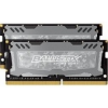 Crucial Ballistix Sport LT SO-DIMM, DDR4-2400, CL16 - 16 GB Kit /BLS2C8G4S240FSD/