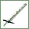 Csákány (kovácsolt, kereszt-lapos, 2,25 kg, nyelezett)