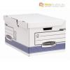Csapófedeles archiváló doboz, BANKERS BOX® SYSTEM BY FELLOWES® , kék [10db]