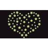 Csillagok foszforeszkáló falmatrica